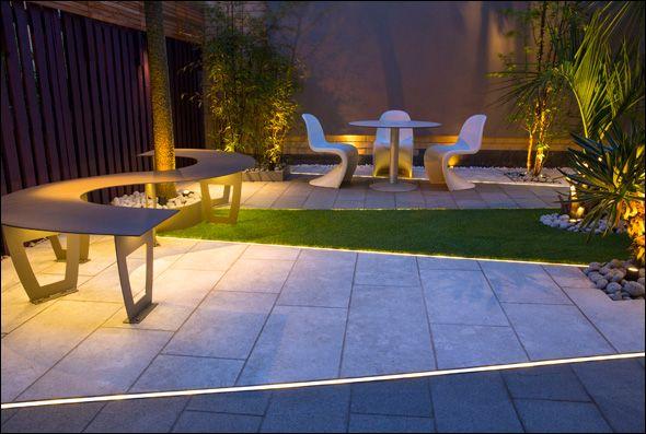 contemporary city garden design