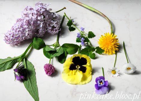 Jadalne kwiaty w maju