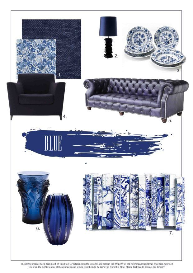 Beautifully Blue: Trends For The Home