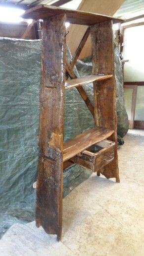 Piattaia in legno di quercia e noce