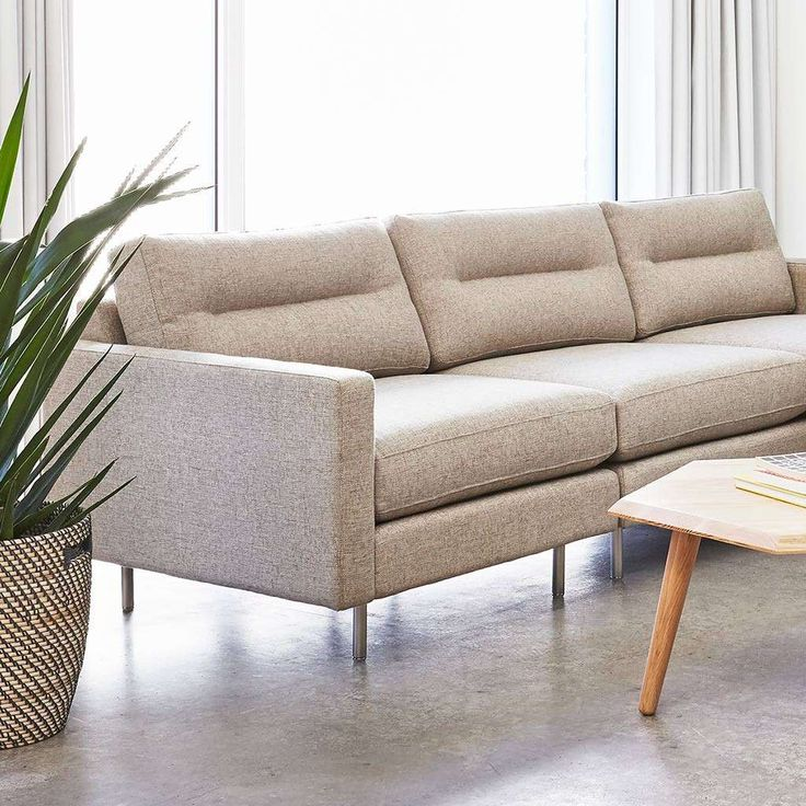 Comfortable With A Refined Modern Style, The Logan Sofa By Gus* Modern Is A