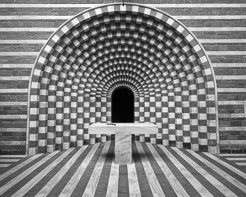 Chiesa Di San Giovanni Battista Church By Mario Botta In