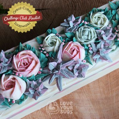 Succulent Rose by Love Your Suds
