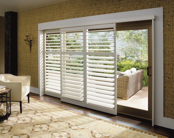 Roman Blinds Can Be Made Up To 3mtrs Wide With A Headrail System Sliding Glass Door Window Sliding Door Window Treatments Window Treatments Bedroom