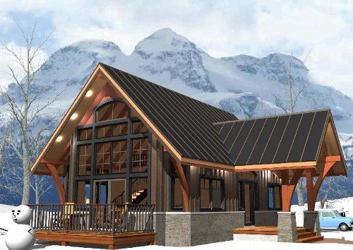 AJIACA  Prefab Recreational Homes Delivered Anywhere from BC Canada  package price 76300