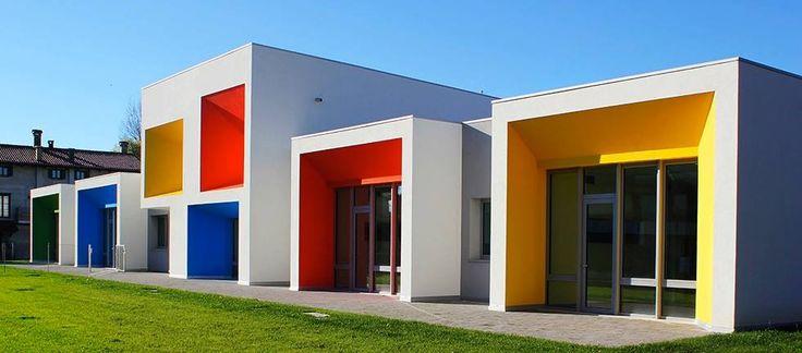 """Nursery school """"Aquilone"""" Padova, Italy by Tecnostudio"""