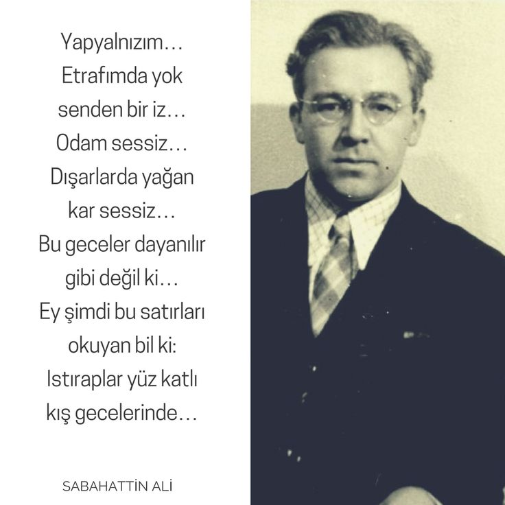 * Sabahattin Ali