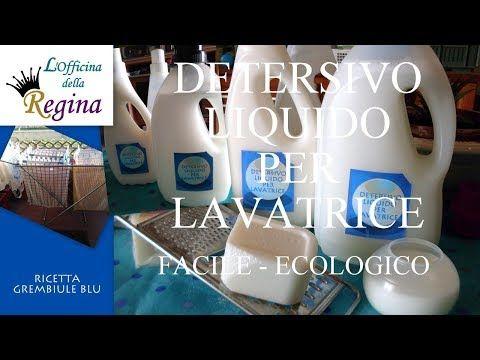 Detersivo liquido per lavatrice, facile, ecologico - YouTube