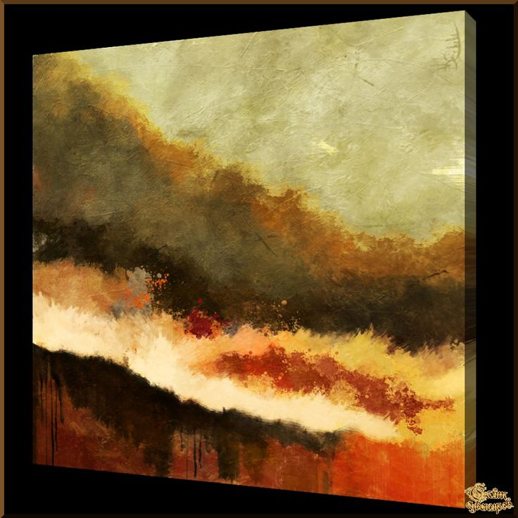 Abstract - 547 Абстракция, картины, картина маслом, сувенир, подарки