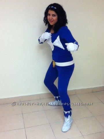 Cool DIY Woman's Power Ranger Costume