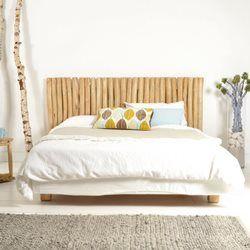 Tête de lit en bois de teck flotté 180 River TIKAMOON