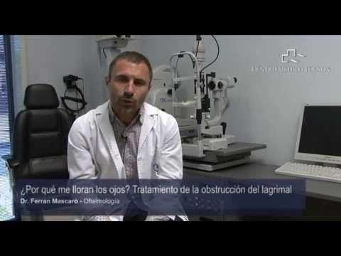 ¿Por qué me lloran los ojos? Tratamiento de la obstrucción del lagrimal - YouTube