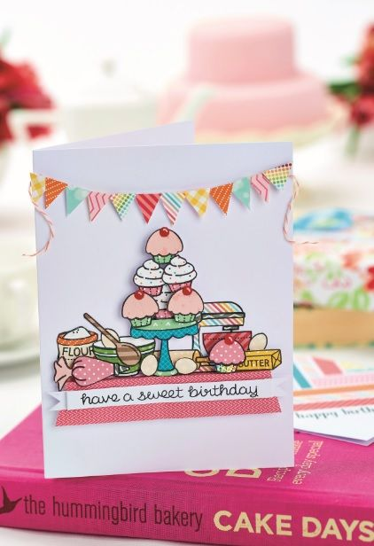 260 best cupcake cards images on pinterest cards diy cards and our march 2016 issue came with a project on how to make a couple of baking handmade birthday cardscard bookmarktalkfo Images