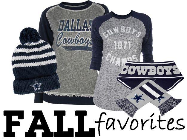 Dallas Cowboys Fall Favorites from Rally House! http://www.rallyhouse.com/nfl/nfc/dallas-cowboys?utm_source=pinterest&utm_medium=social&utm_campaign=Pinterest-DallasCowboys