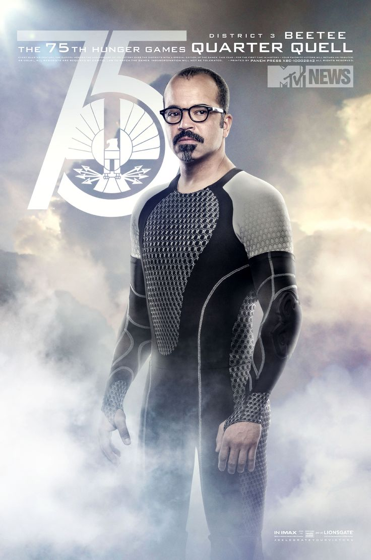 Beetee! (Exclusive 'Catching Fire' Posters: Meet Wiress And Beetee! - Music, Celebrity, Artist News | MTV.com)