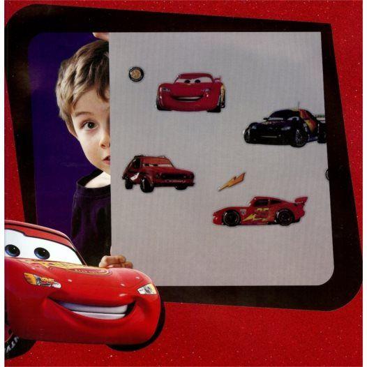 Disney - Cars/Bilar 3D Väggdekaler