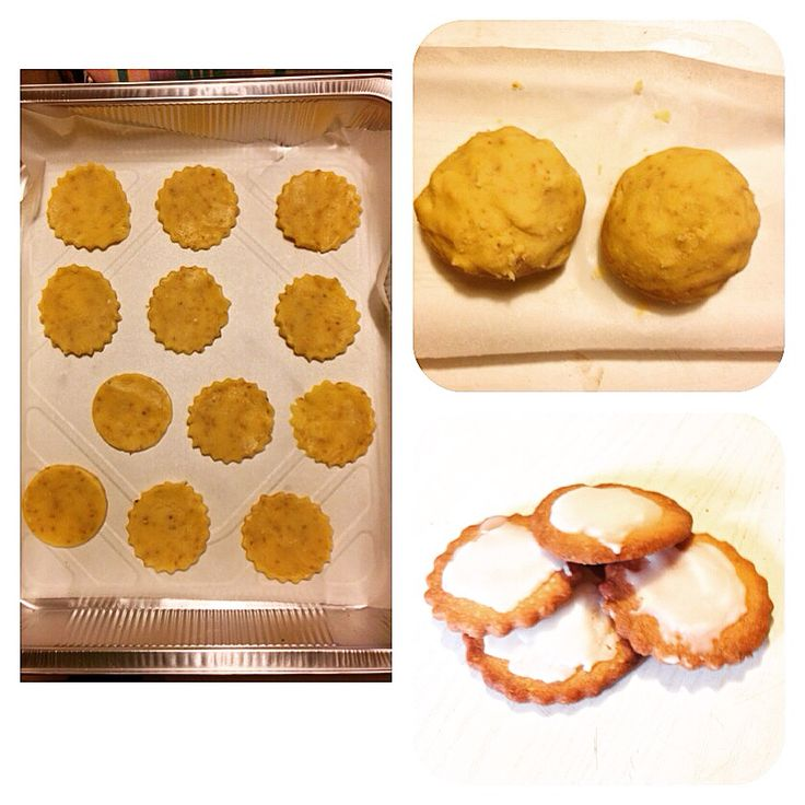 Biscotti limone e semi di sesamo