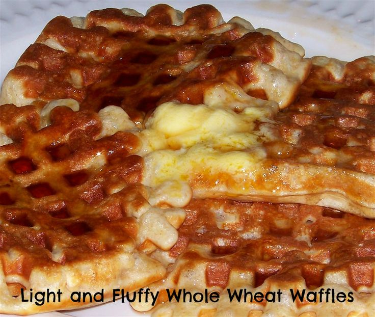 Whole Wheat Waffles http://motherrimmy.com/light-and-fluffy-whole ...
