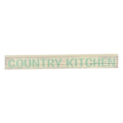 Make your mark on your kitchen with the Country Kitchen Word Block! #kirklands #CountryLivin
