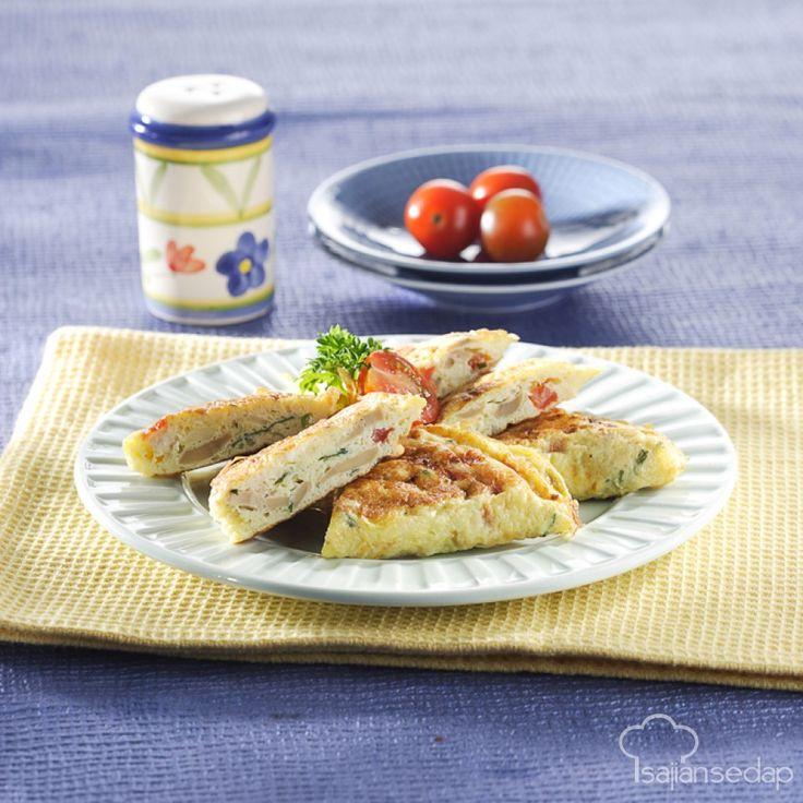 Yuk, masak omelet jamur kancing yang begitu mudah untuk dibuat. Tinggal aduk-aduk dan matangkan saja, sarapan mantap bisa kita sajikan.