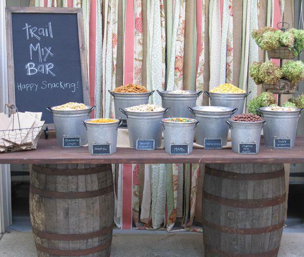 Wedding Snack Bar Ideas: SR.-Trail-Mix-Bar-Photo-22 In 2019