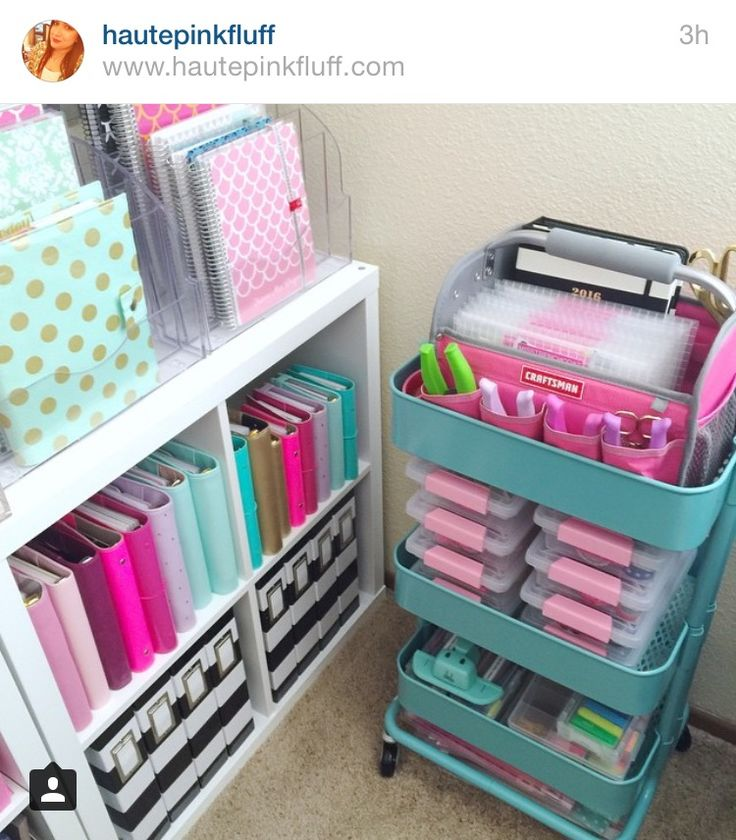 Love the organization style and colors!