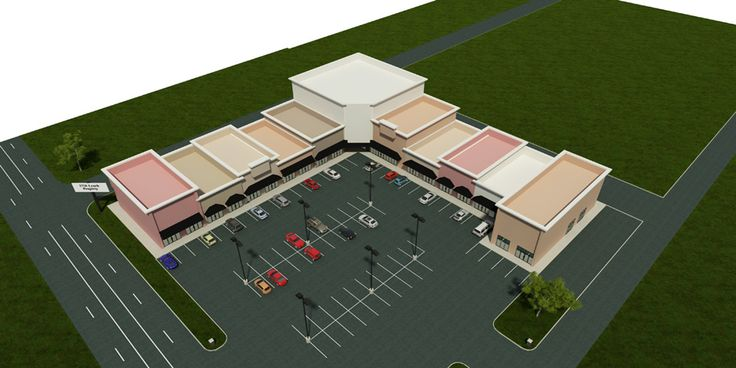 Steel strip mall building designs proyectos casas for Retail building plans