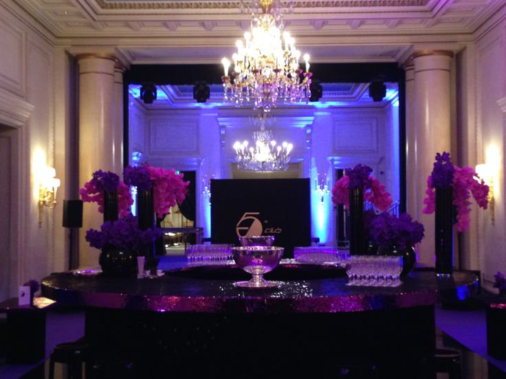 New Year's Eve 2013 night club @Four Seasons Hotel George V Paris in Salon Auteuil
