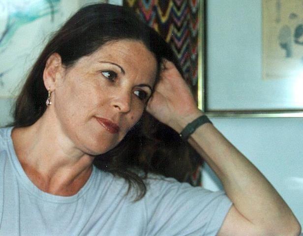 Poet Shulamit Apfel (Israel), featured on PI in December 2013. Image © Maya Calderon