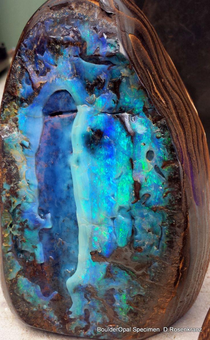 pol. Boulder Opal Specimen
