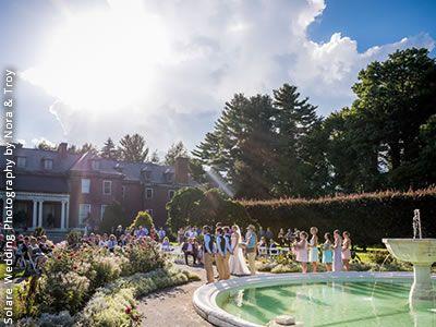Massachusetts Horticultural Society, Gardens at Elm Bank Wellesley Massachusetts Wedding Venues 3