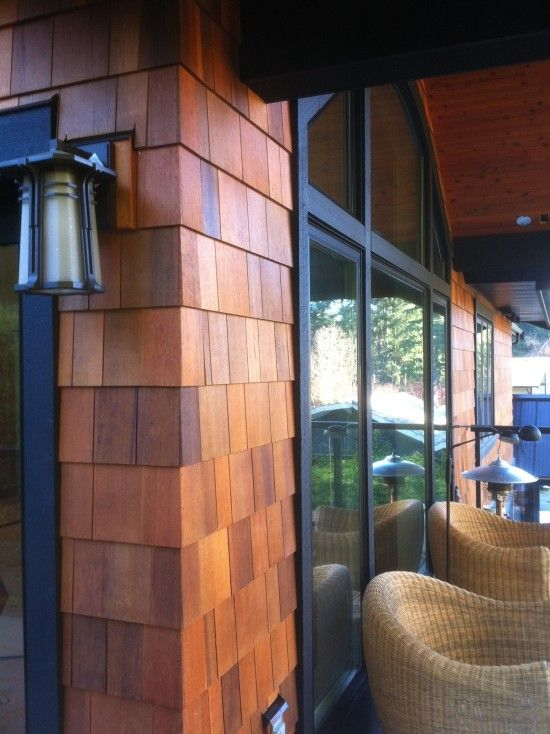 Cedar Shingles Create Quite The Outdoor Style If We