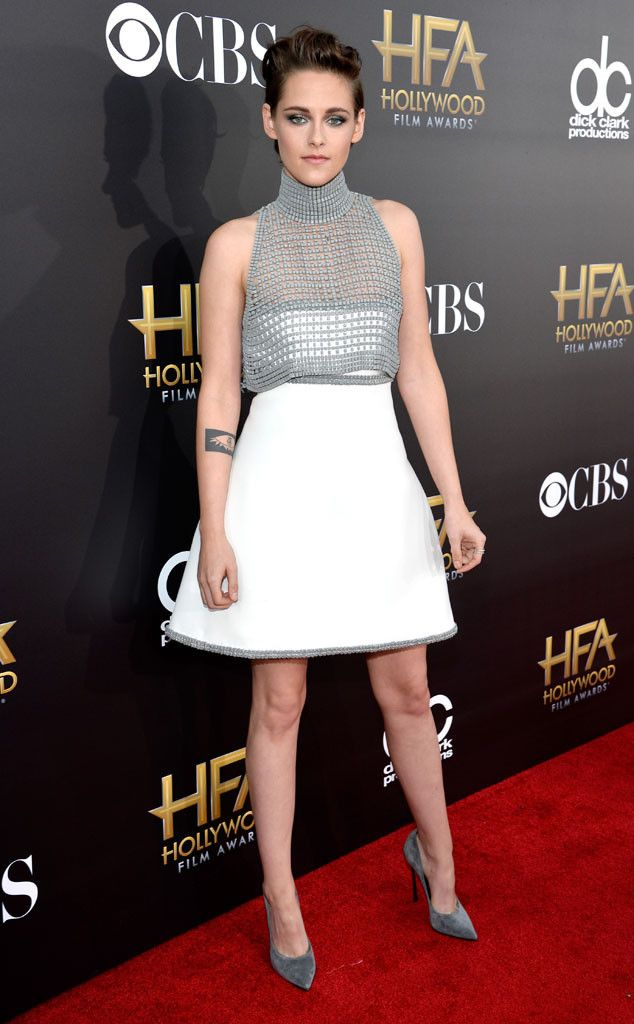#PrettyThings - Dress Envy! Chanel Couture worn by Kristen Stewart at the  2014 Hollywood Film Awards via E! Online