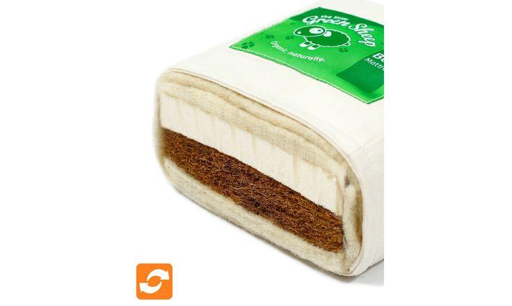 The Little Green Sheep 140x70cm Natural Twist™ Cot Bed Mattress