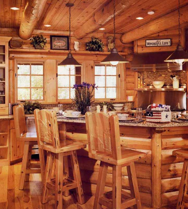 Cabin Kitchen Cabinets: 115 Best Images About Cabin On Pinterest