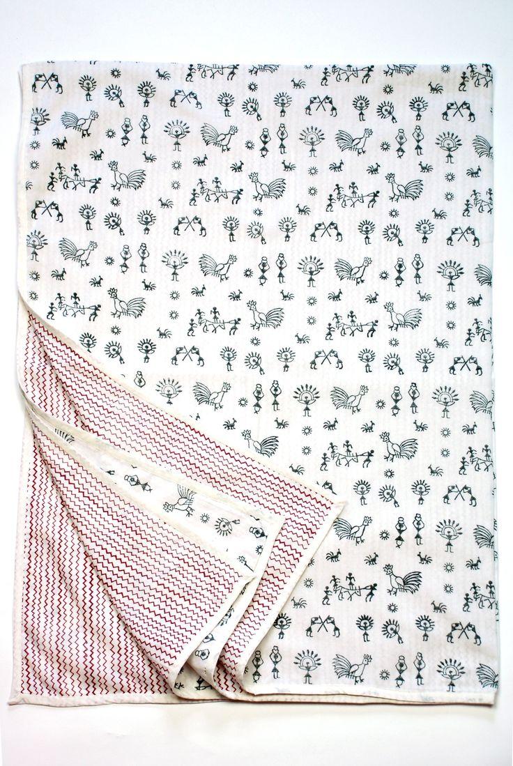 Warli Blanket - 11 Main