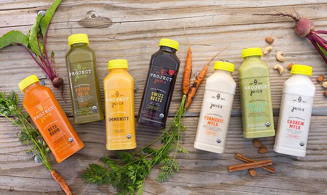 Project Juice Subscription Boxes In 2019 Juice Delivery Juice Cleanse Juice