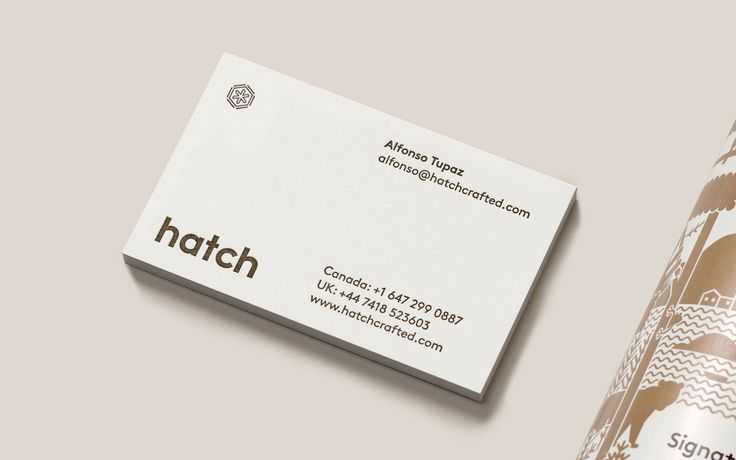 1318 best business cards images on pinterest brand identity carte hatch cold brew coffee by tung canada branding logo businesscards reheart Gallery