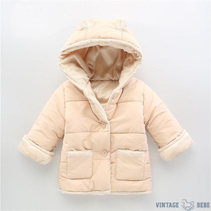 Bunny Ear Winter Coat