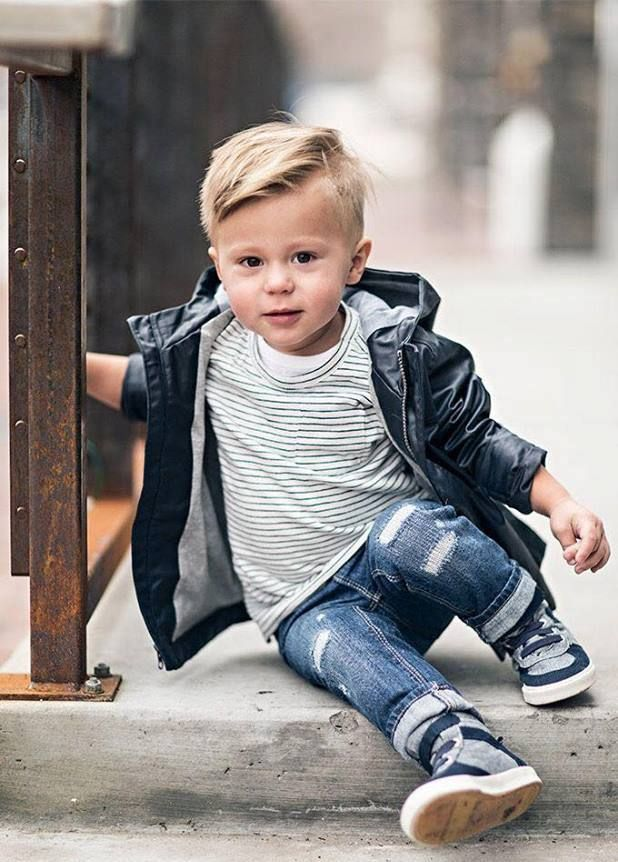Little Boy Hairstyles 50 Trendy And Cute Toddler Boy
