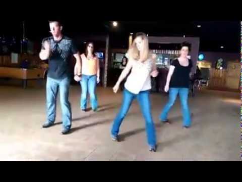 "Linedance to Luke Bryan's ""Kick the Dust Up"" we need to do this for talents and endowments...@sethydavid @madisonvd @daviesgeek  @washyourstuff"