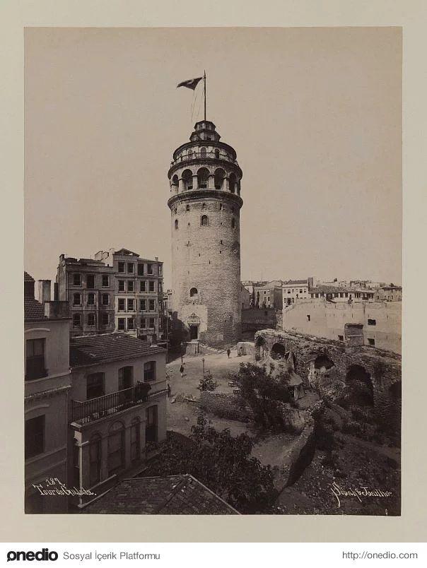 Galata Kulesi - 1880