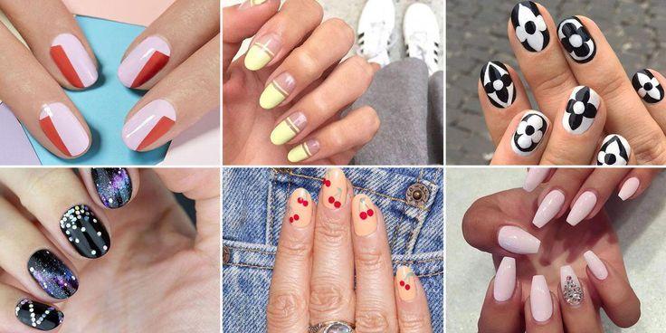 Von rund über oval bis squoval sind hier die schmeichelhaftesten Nagelformen für … – acrylic nails rounds
