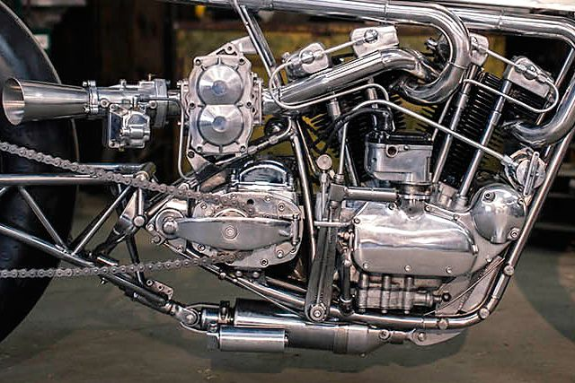 '65 Harley Ironhead – Hazan Motorworks | Pipeburn.com