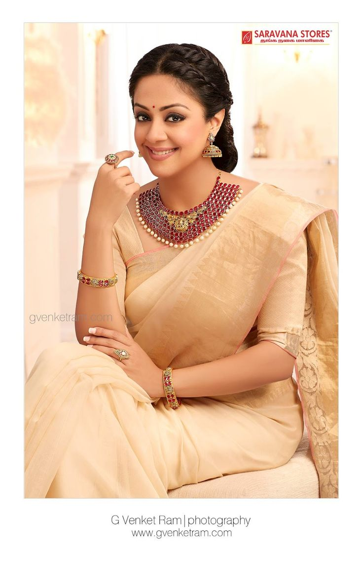 Jyothika traditional sari at shobi wedding saree blouse patterns - Jyothika Traditional Attire New Photoshoot