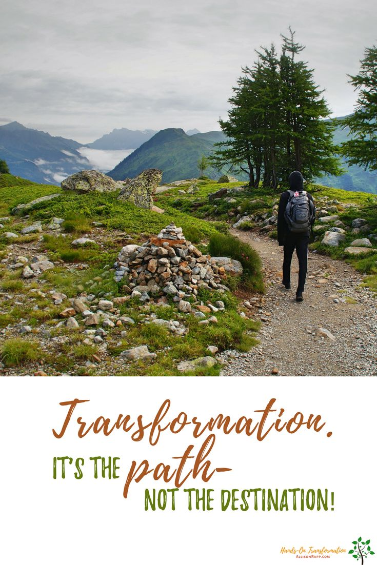 Transformation doesn't happen and it's over. Once you're on that path, you keep going, and you only find out where it leads when you get there. Join us @ Hands-on Transformation on Facebook.   #Feldenkrais #yoga #alternativetherapies  https://www.facebook.com/groups/handsonxfm/
