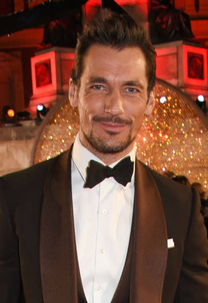 David Gandy attends The Fashion Awards 2017 in partnership with Swarovski at Royal Albert Hall on December 4, 2017 in London, England.