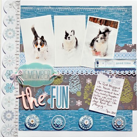 winter page by Katrina Hunt (little yellow bicycle)
