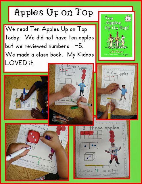 Golden Gang Kindergarten Apples Up on Top
