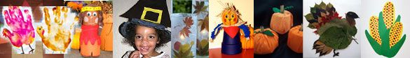 Cornucopia of Thanksgiving Crafts